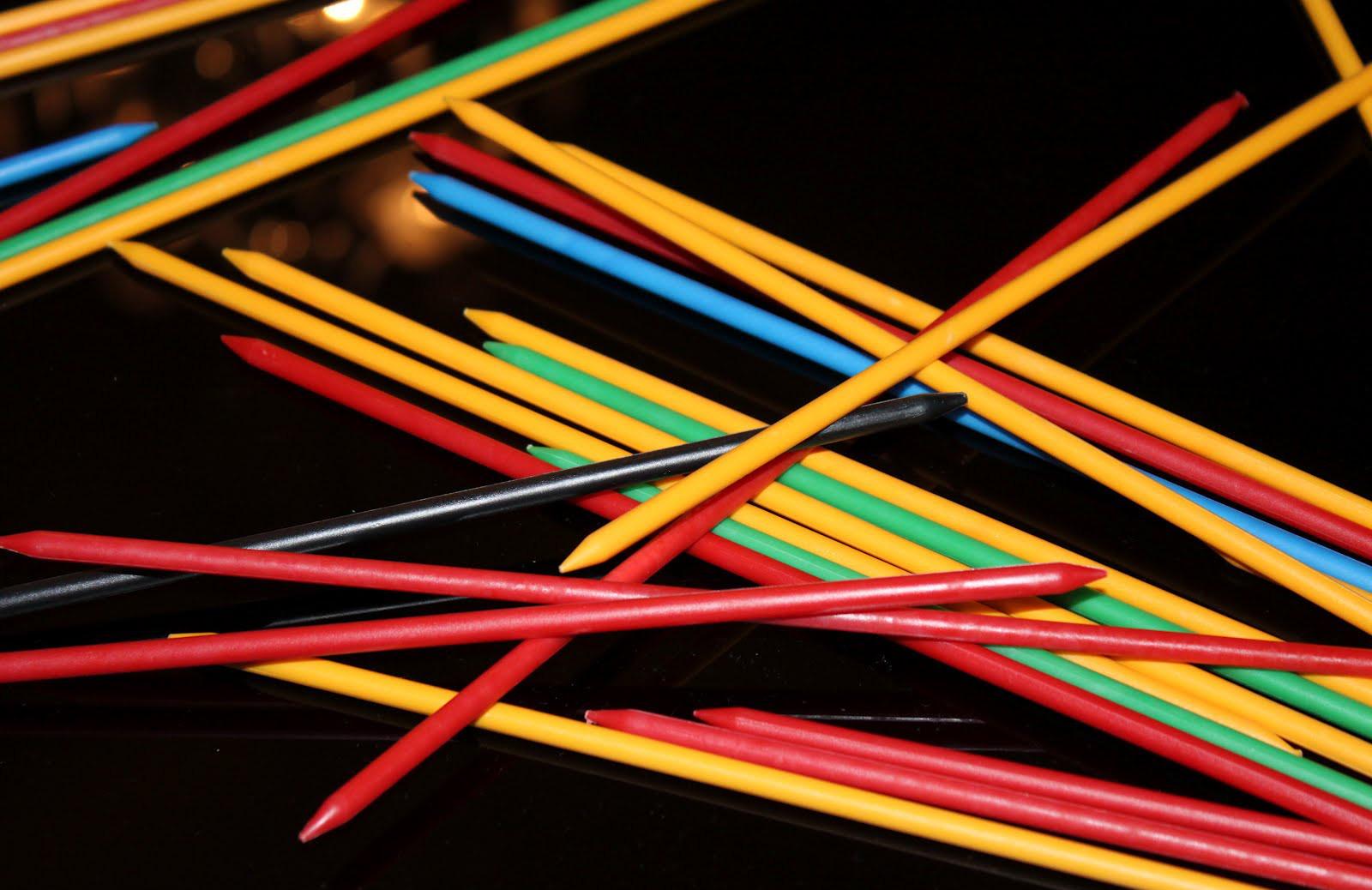 Anni 39 80 shangai o mikado il gioco dei bastoncini colorati for Gioco dello shanghai