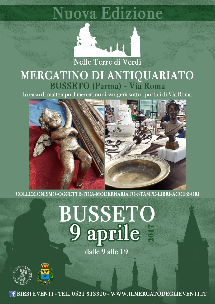 Antiquariato a busseto al via la seconda edizione del for Il mercatino roma