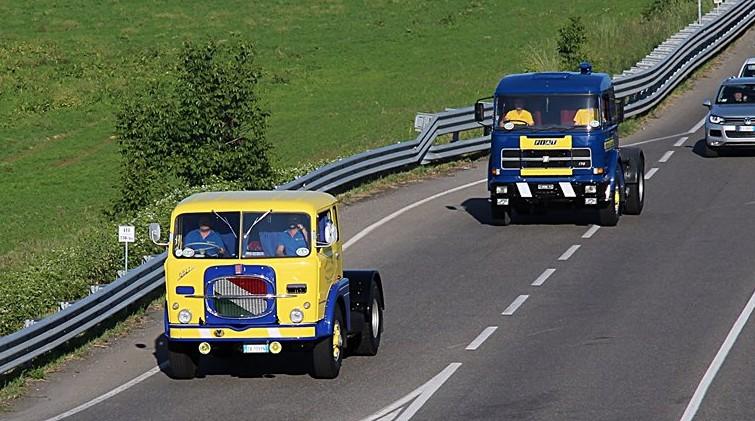 Gara di camion d 39 epoca a maggio nelle terre verdiane - Foto di grandi camion ...