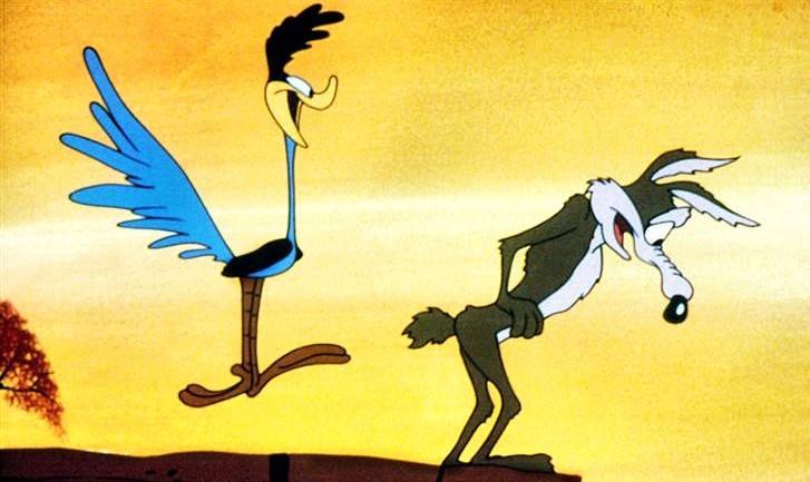 Settembre esce il primo episodio di wile e coyote