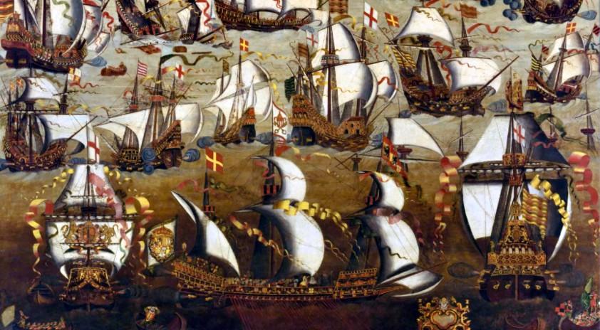 28 Maggio 1588 L Invincibile Armata Salpa Da Lisbona
