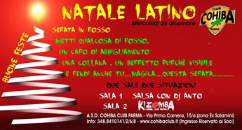 Natale In Latino.Cohiba Natale Latino