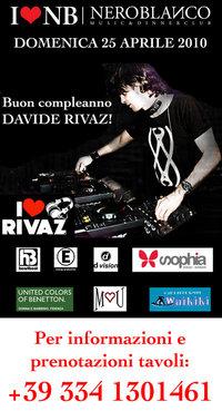 Buon Compleanno David Rivaz Neroblanco